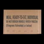 MRE rations sealed case of 12 meals