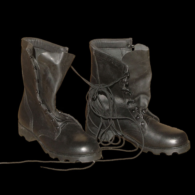 Boots speed lace combat