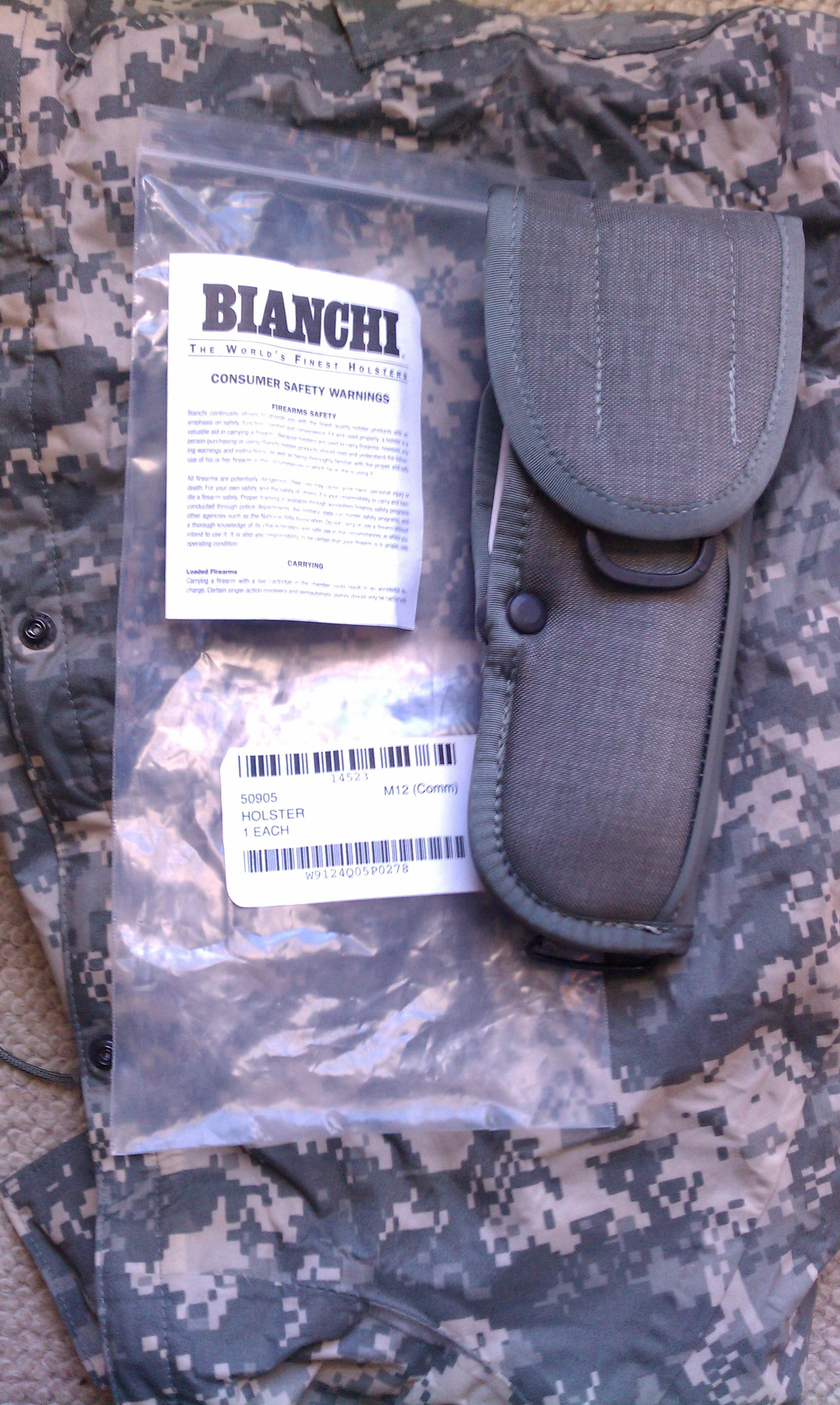 Bianchi M12 Holster
