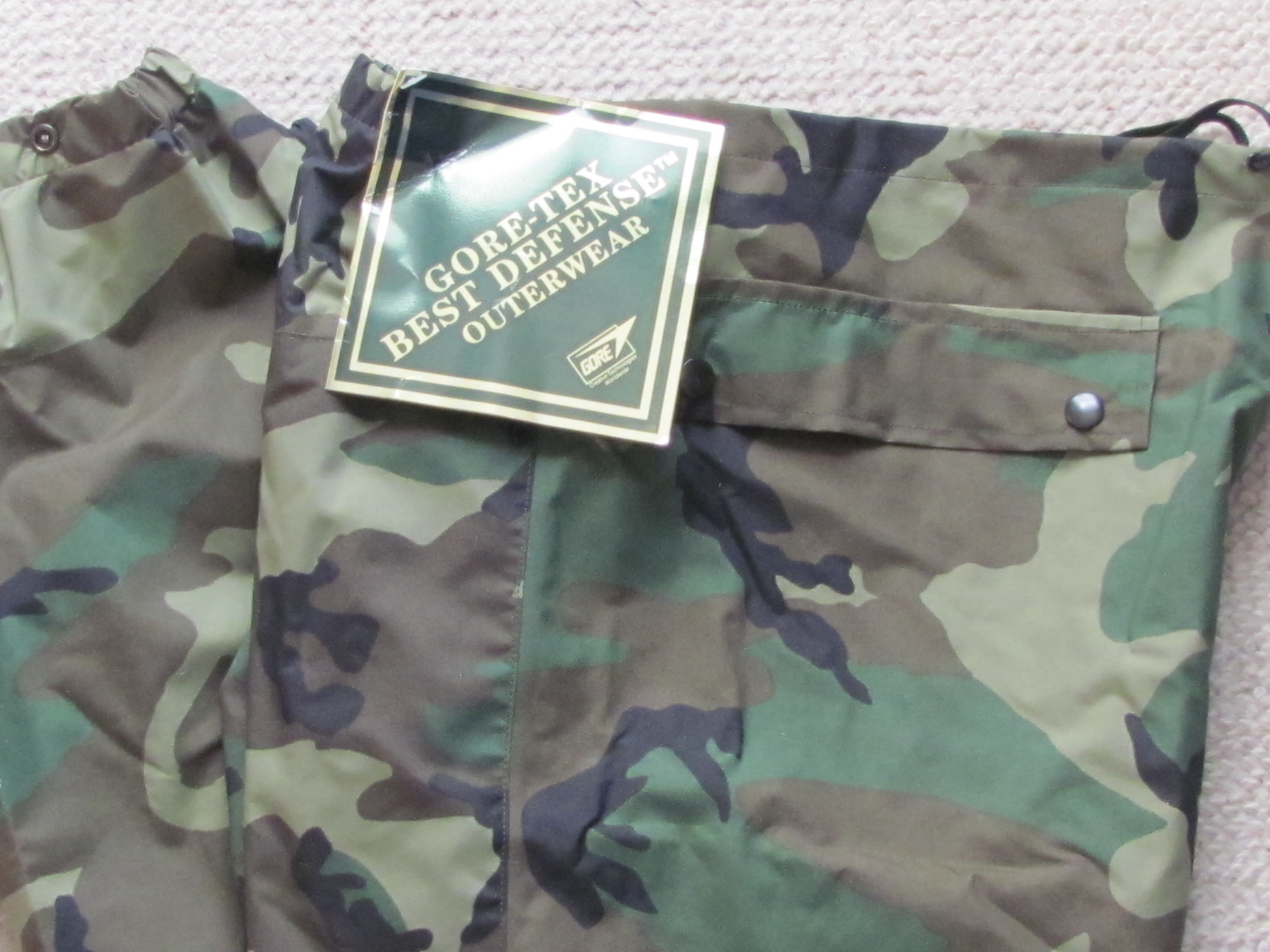 Special Forces Gortex Pants